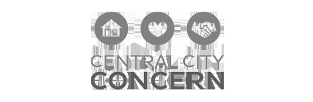 Central City Concern logo bw
